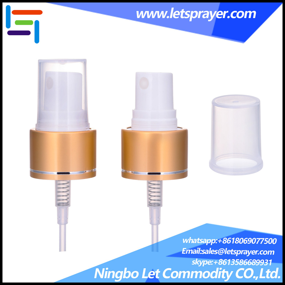 aluminum mist sprayer perfume sprayer pump